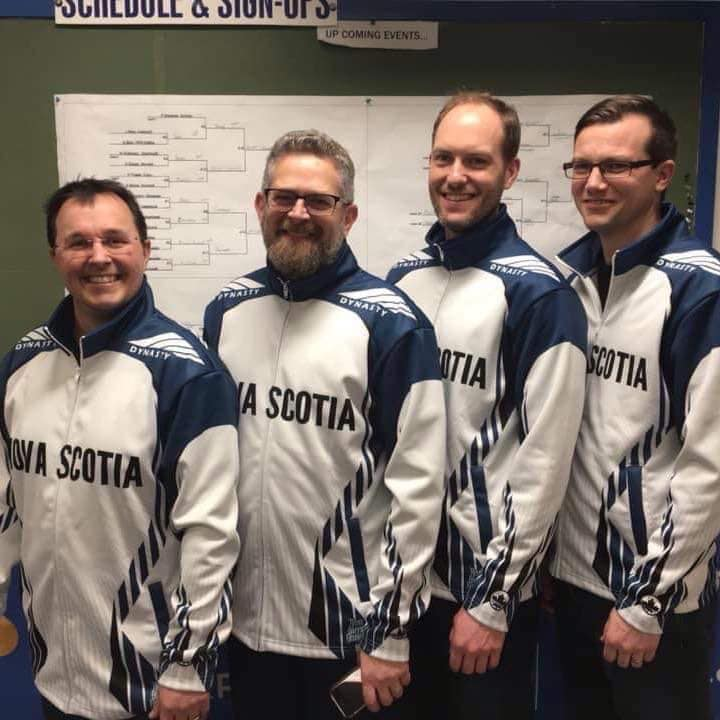C Curling Club Team Callaghan